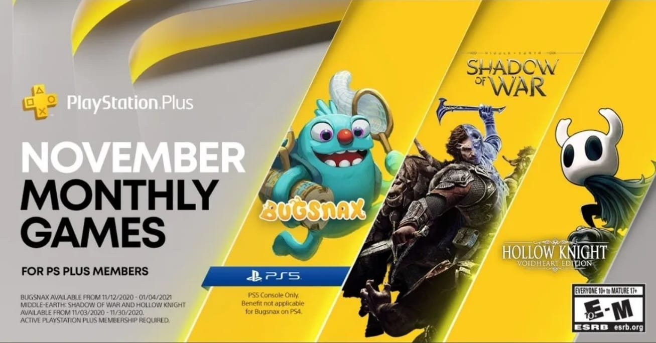 PS Plus November: First PS5 Freebie Is Bugsnax; Full PS Plus Assortment Record Detailed 1