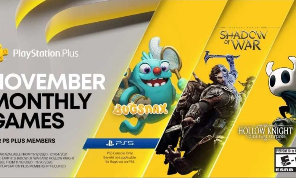 PS Plus November: First PS5 Freebie Is Bugsnax; Full PS Plus Collection List Detailed