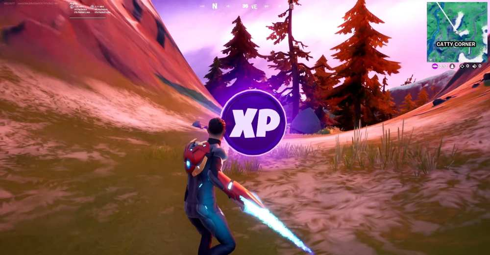 fortnite week 9 xp coin locations