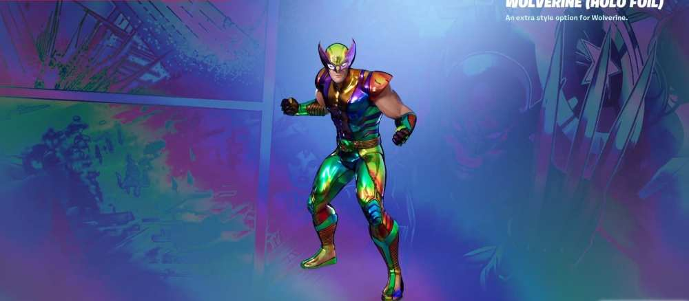 fortnite holo wolverine