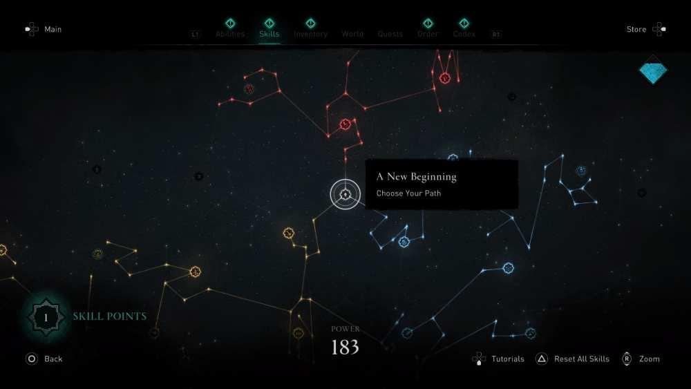 Assassin's Creed Valhalla Skill Tree Explained