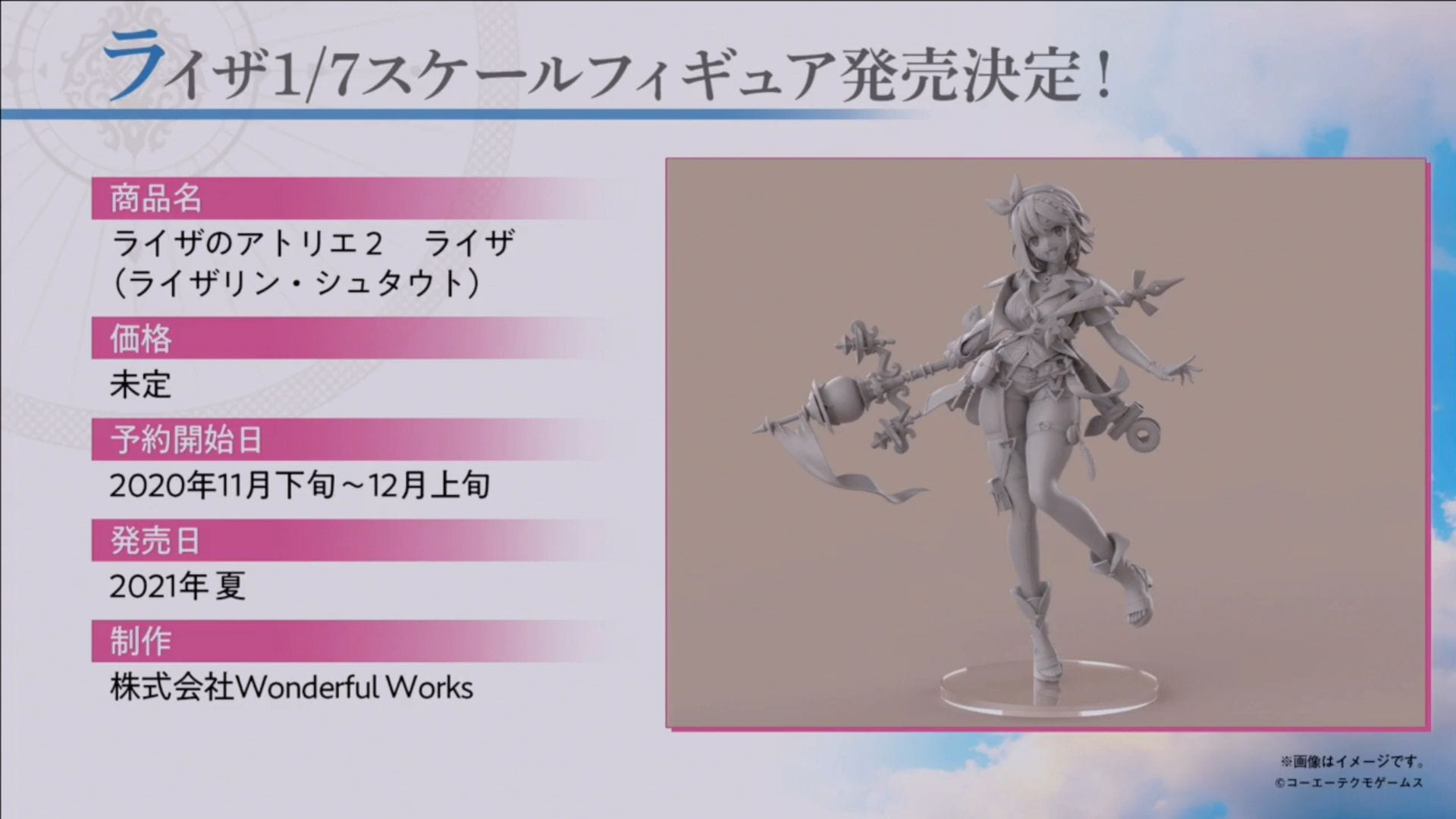 Atelier Ryza 2 Reveals Attractive Determine Prototype By Fantastic Works 1