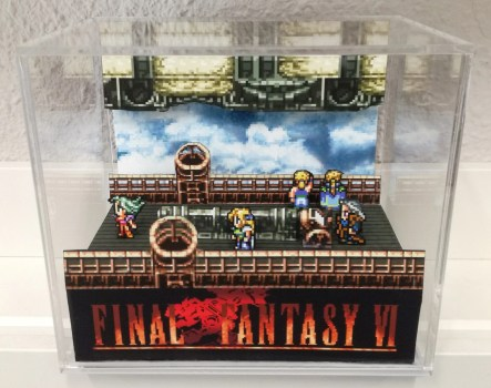 Final Fantasy Dioramic Cube Gift