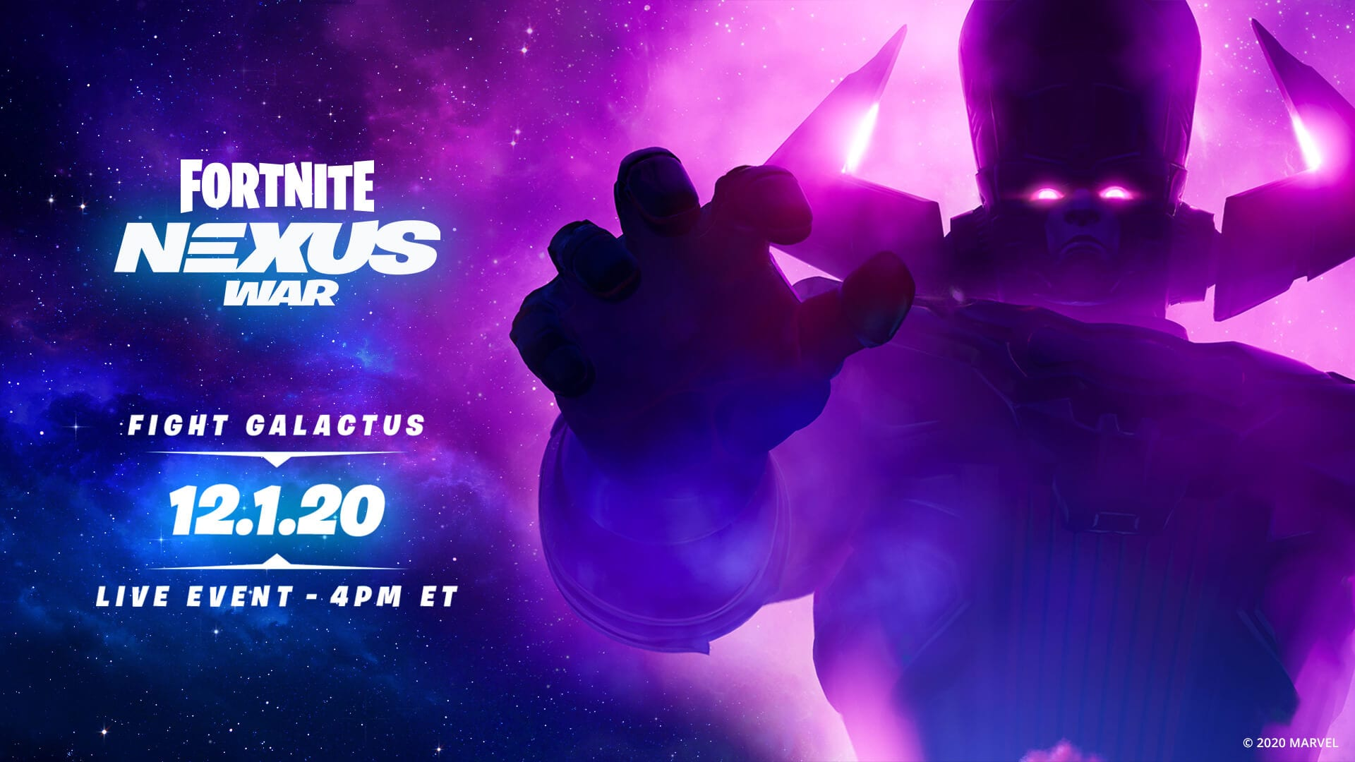 Subsequent Large Fortnite Occasion Sees the Arrival of Galactus 1