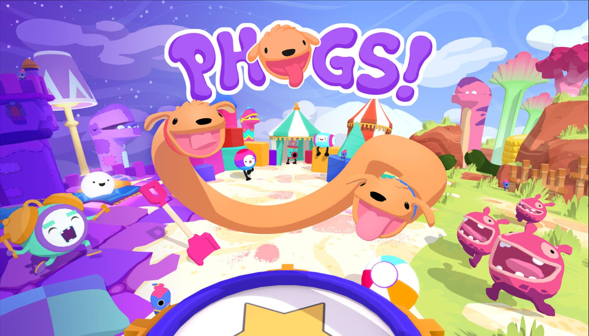 Co-Op Puzzler PHOGS! Is Unleashed on All Platforms Subsequent Month 1