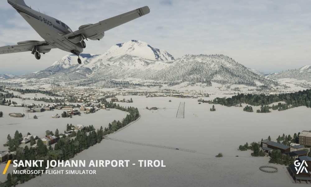 Microsoft Flight Simulator – Sankt Johann Airport Add-On Looks Charmingly Bucolic in New Trailer