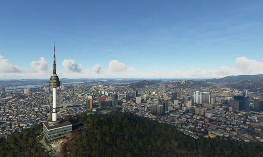 Microsoft Flight Simulator Getting Seoul Scenery Add-On