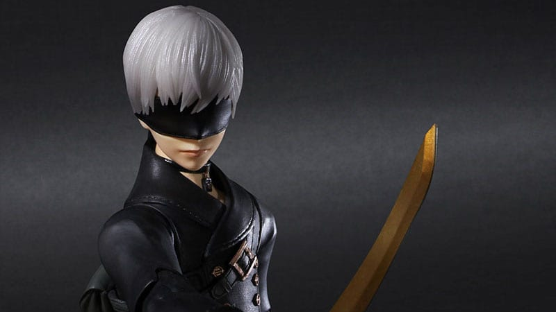 NieR: Automata Getting 9S Play Arts Kai Motion Determine in Two Editions 1