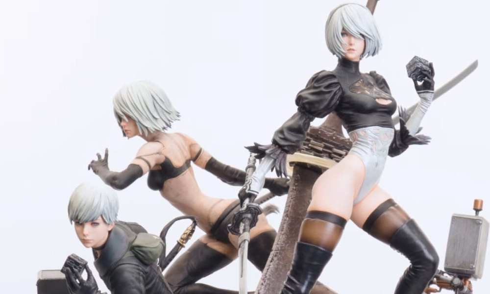 Nier: Automata 1/4-Scale Masterline Figures Look Absolutely Gorgeous (and Expensive) in New Trailers