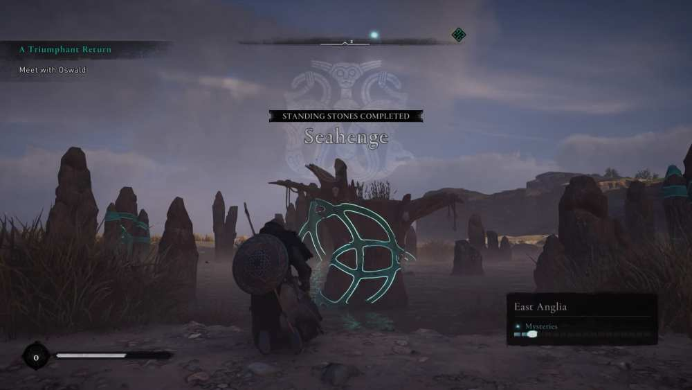 Assassin's Creed Valhalla Seahenge Standing Stones solution