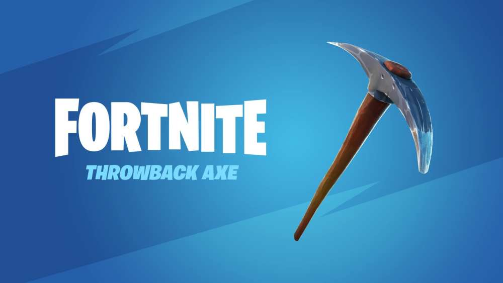 fortnite throwback pickaxe