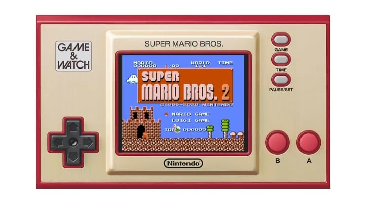 super mario bros.: lost levels, game & watch