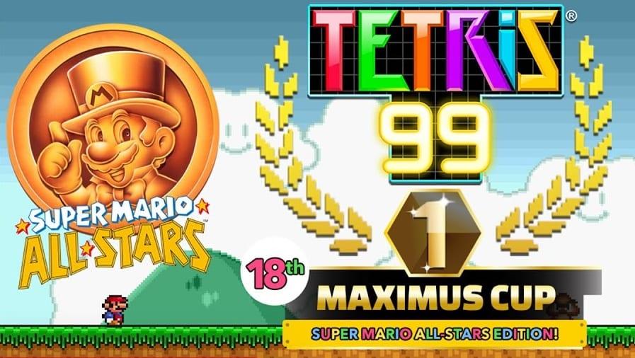 Upcoming Tetris 99 Maximus Cup Celebrates Tremendous Mario All-Stars 1