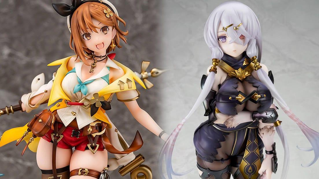 Atelier Ryza 2 & Atelier Ryza Getting Attractive Ryza & Lila Figures 1
