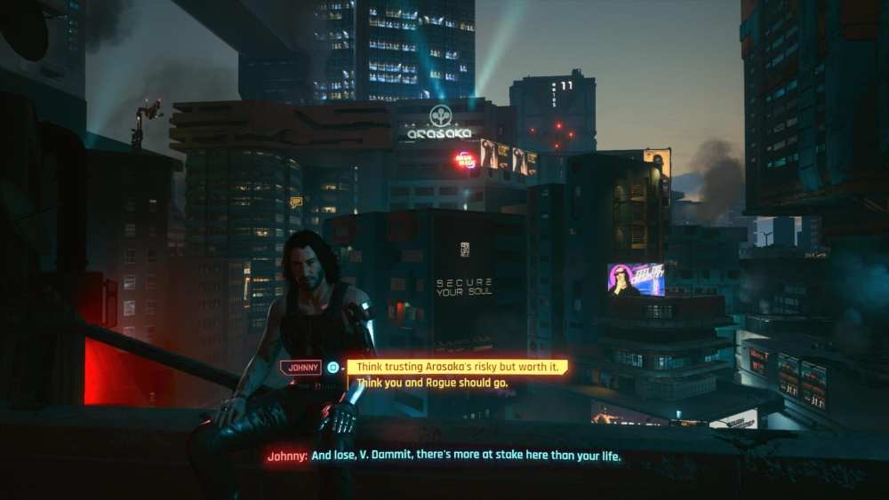 cyberpunk 2077 story summary, ending explained