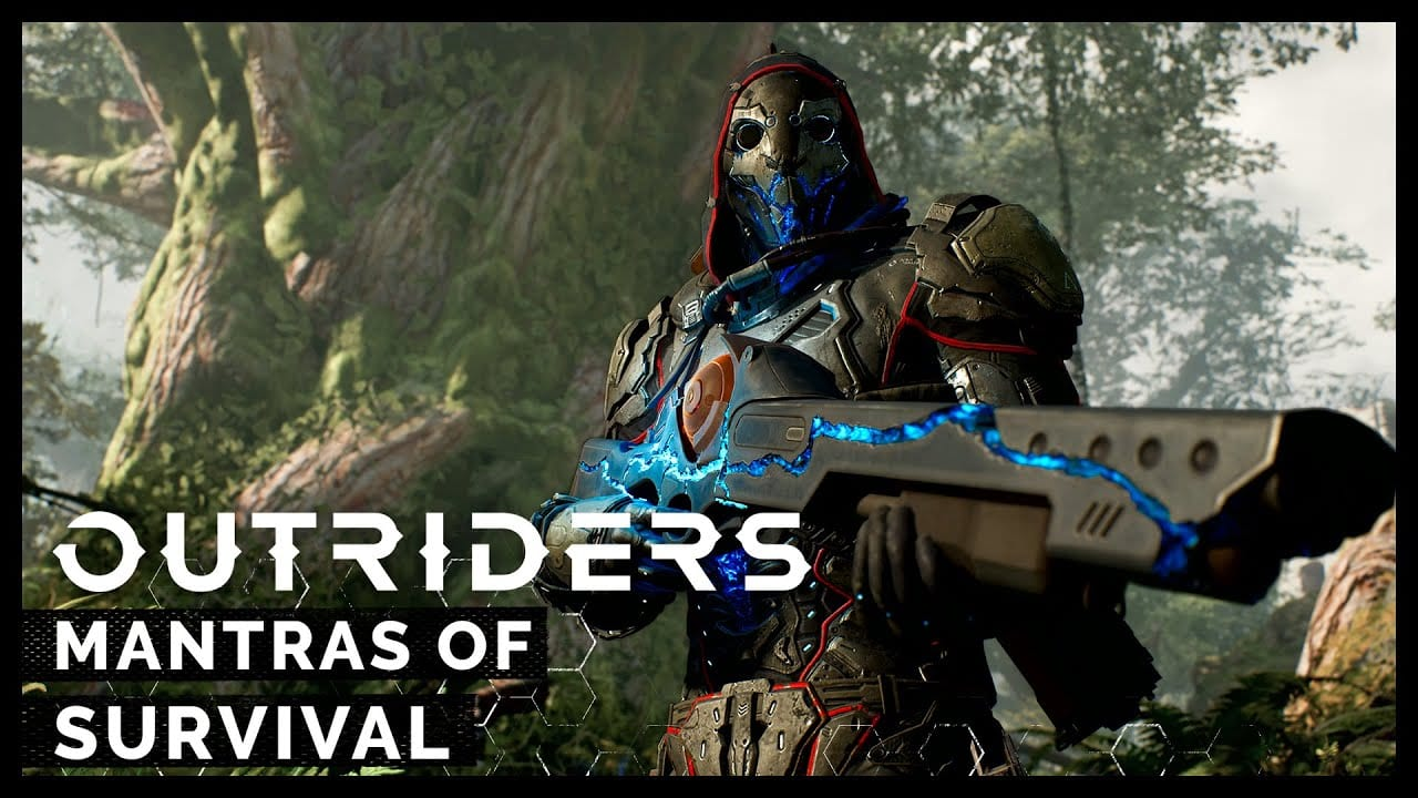 Outriders Trailer Lists Mantras of Survival at The Recreation Awards 1