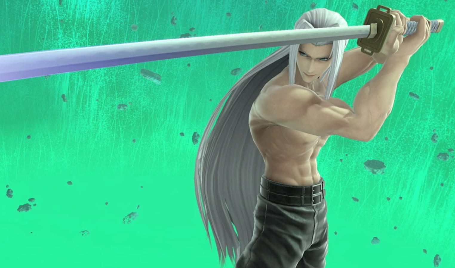Nicely, Shirtless Sephiroth Is a Factor in Smash Bros. Now 1