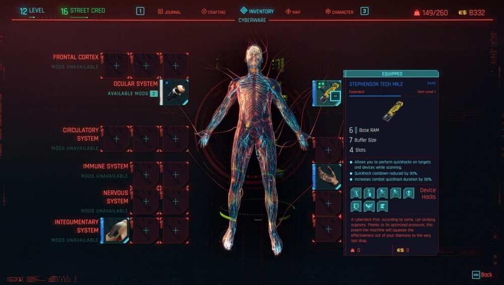 cyberpunk 2077 cyberdecks