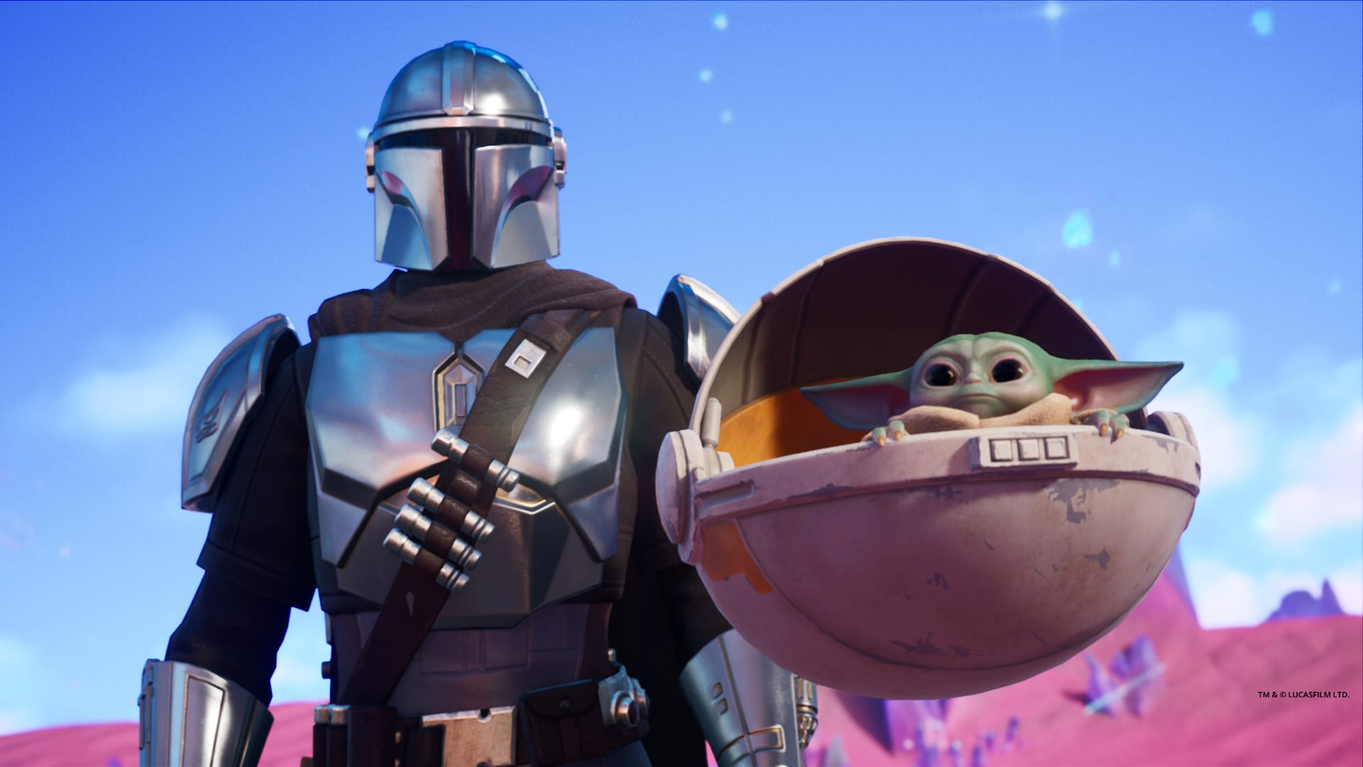 Fortnite: How to Get Baby Yoda Back Bling (The Child)
