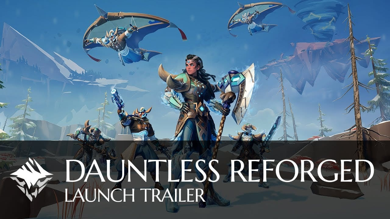 Dauntless Reforged's Launch Trailer Highlights its New Modes & Options 1