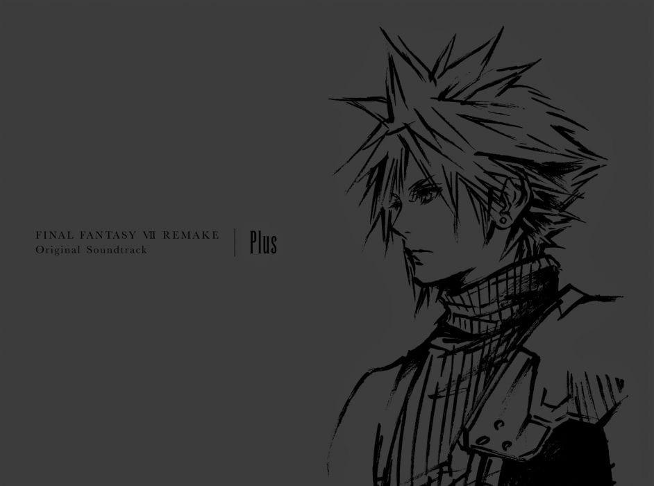 FFVII Remake Authentic Soundtrack Plus Options New Cowl Artwork from Tetsuya Nomura, Accessible for Pre-Order 1