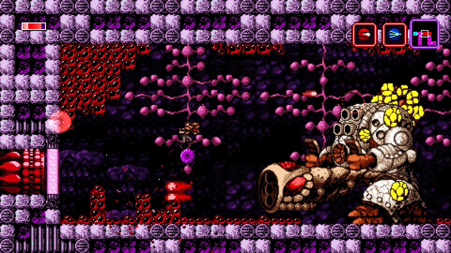 Axiom Verge's First Content Update Adds Randomizer Mode