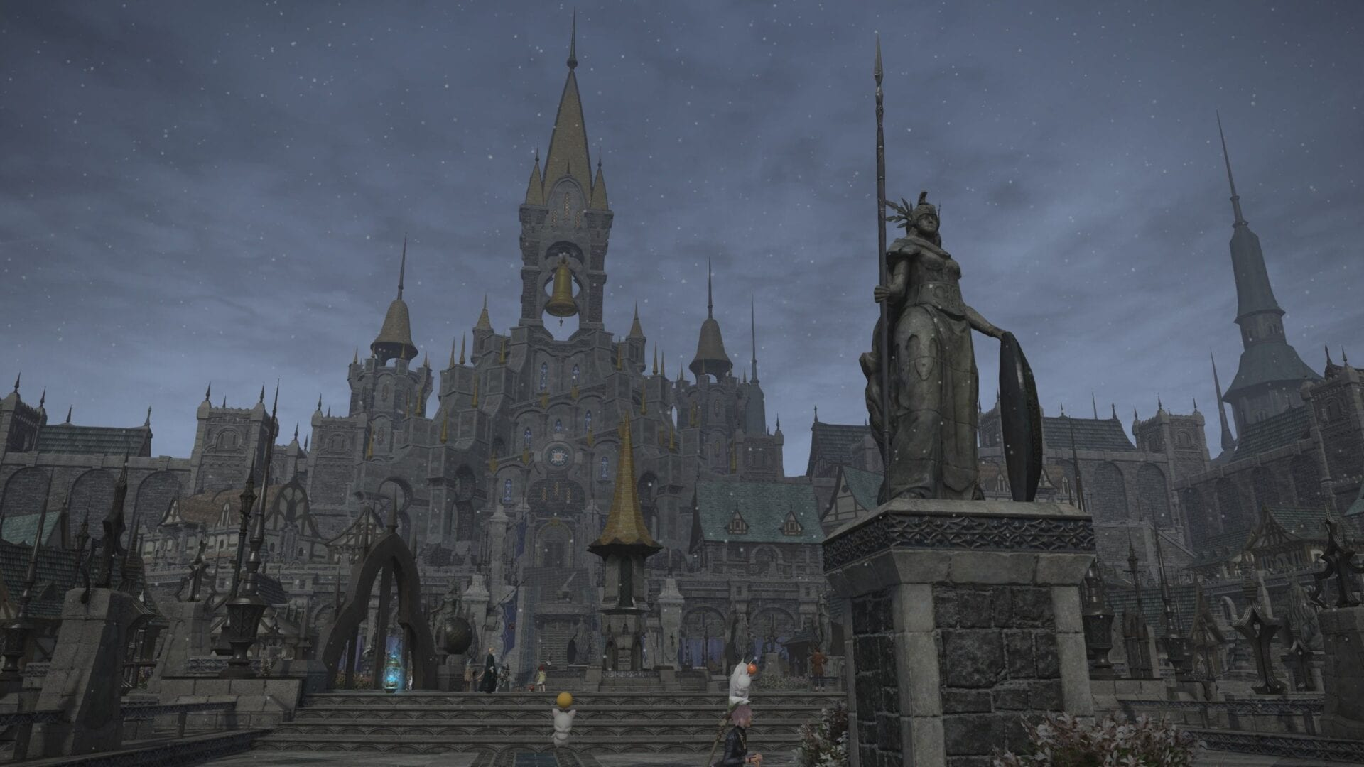 Final Fantasy XIV – Ishgardian Restoration End Shows First Taste of Ishgard Housing Wards & Sweet Spa