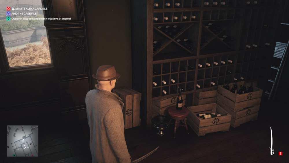 hitman 3 hide restricted items