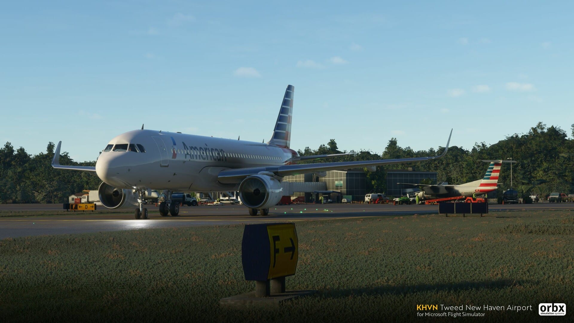 Microsoft Flight Simulator Tweed New Haven Airport Add-On Introduced by Orbx 1