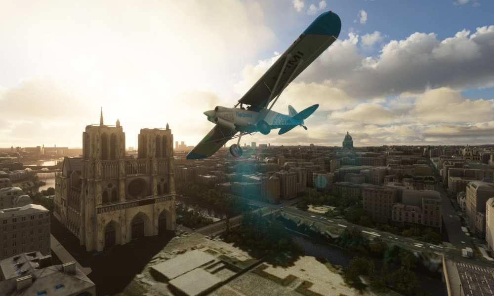 Microsoft Flight Simulator Landmarks Paris City Pack Review (Orbx)
