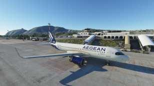 Microsoft Flight Simulator Santorini Airport