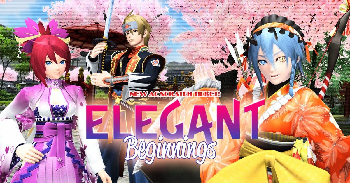 Phantasy Star On-line 2 Elegant Beginnings Ac Scratch Assortment Celebrates the New 12 months 1