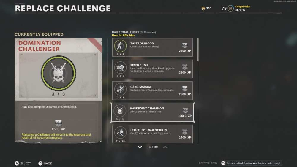 black ops cold war daily challenges
