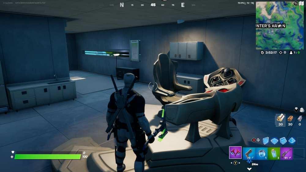 visit predator's apartment in fortnite