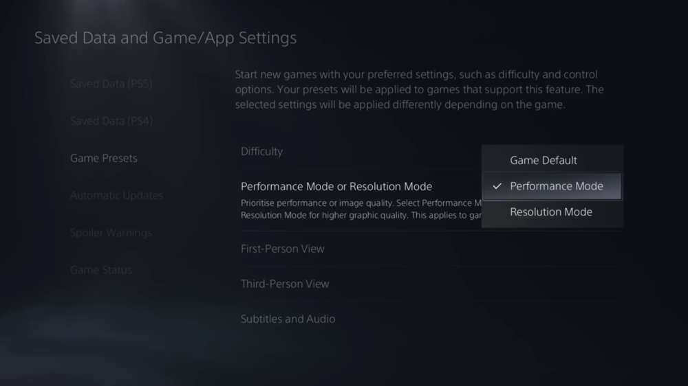how to enable 120 fps on ps5
