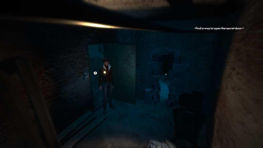 The Medium Red House secret door combination