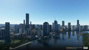 Microsoft Flight Simulator Brisbane