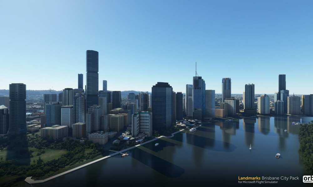 Microsoft Flight Simulator Brisbane City Pack Released by Orbx; Airport Amazonia Pack Free For a Day