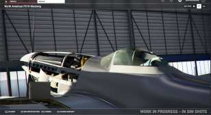 Microsoft Flight Simulator Mustang
