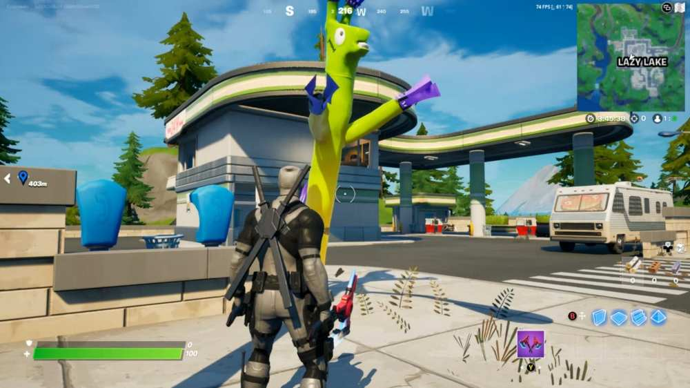 where to find inflatable tubemen llamas in fortnite