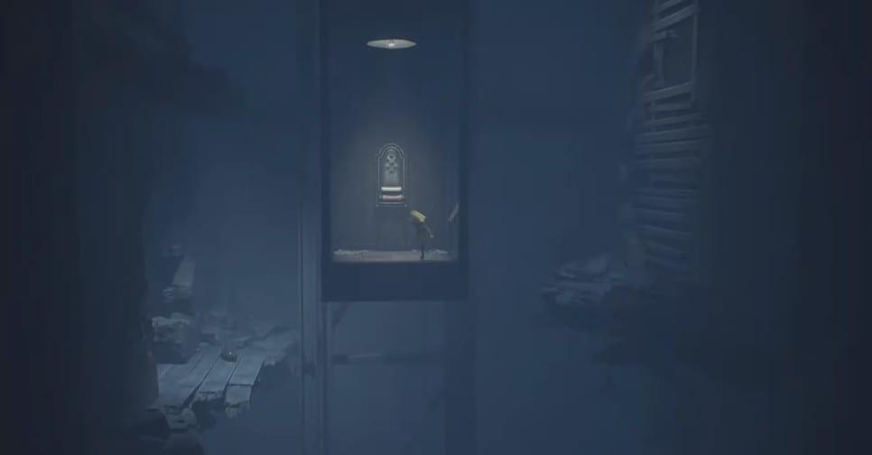 Little Nightmares 2, elevator puzzle