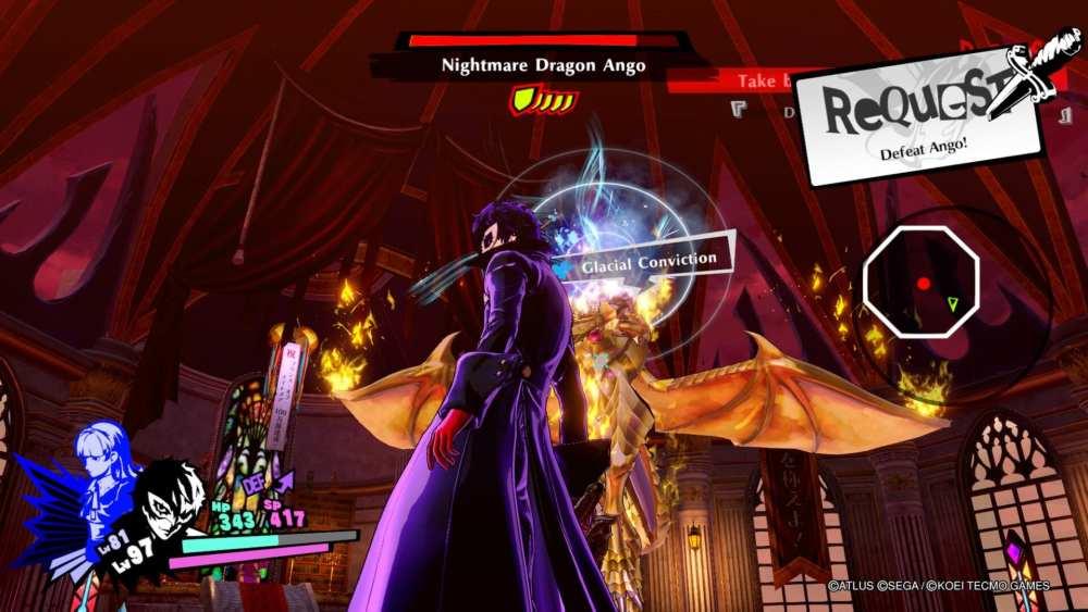 Persona 5 Strikers, How to Beat Ango Natsume