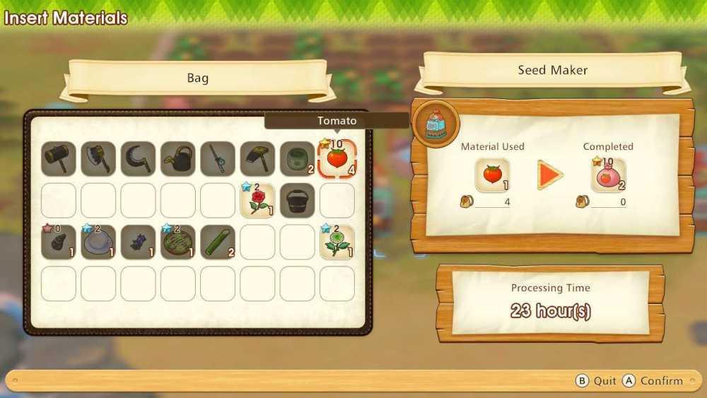 increase crop quality story of seasons