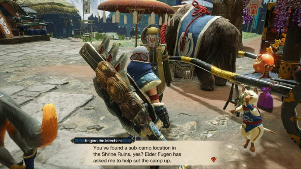 monster hunter rise sub-camps