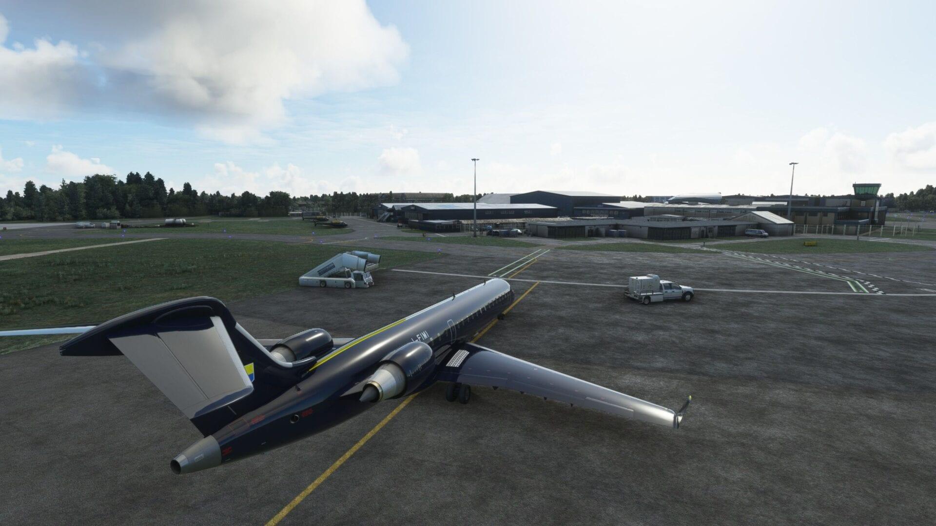 London Oxford Airport for Microsoft Flight Simulator Critic Review