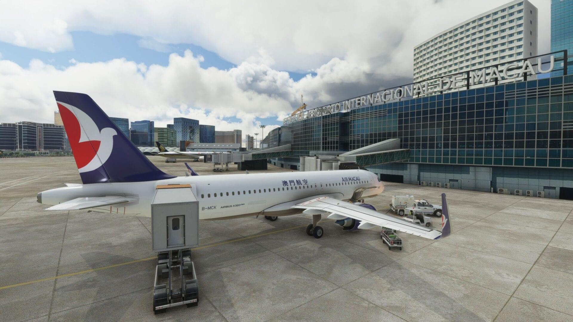 Macau Macao VMMC for Microsoft Flight Simulator Critic Review