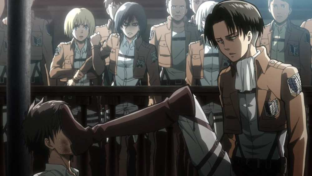 Attack on Titan, Top Anime Senpai