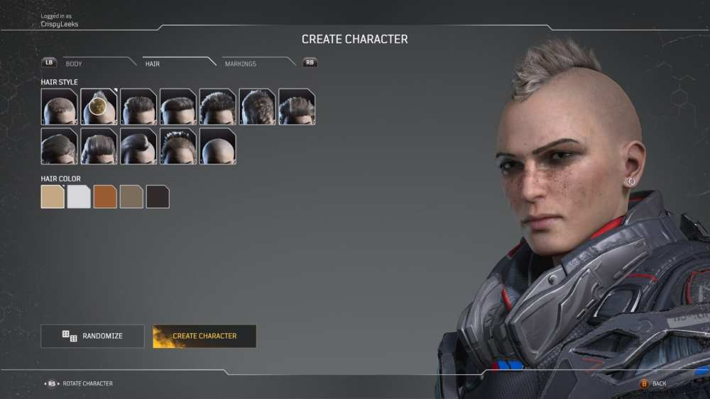 outriders hairstyles