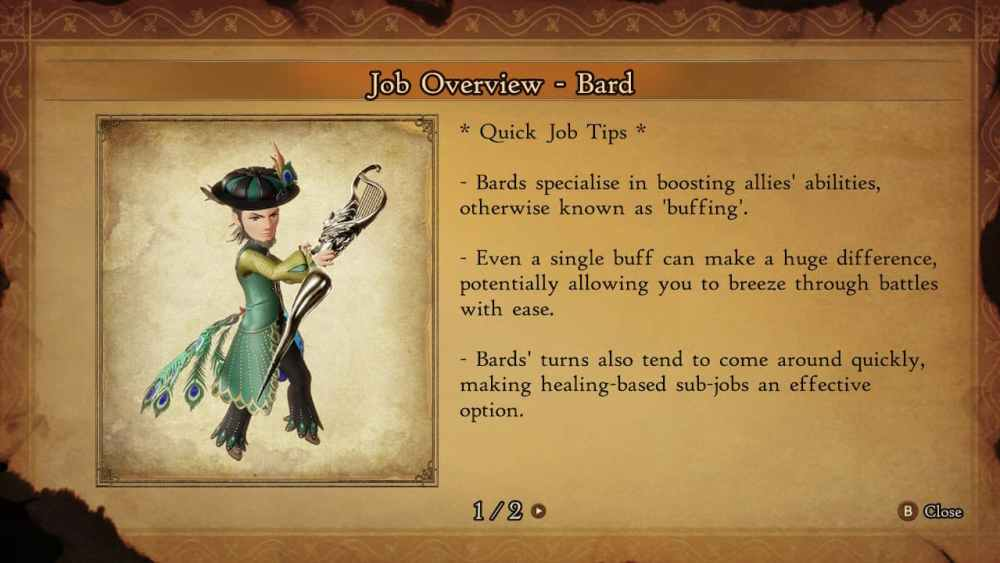 Bravely Default 2 Good Job Combinations