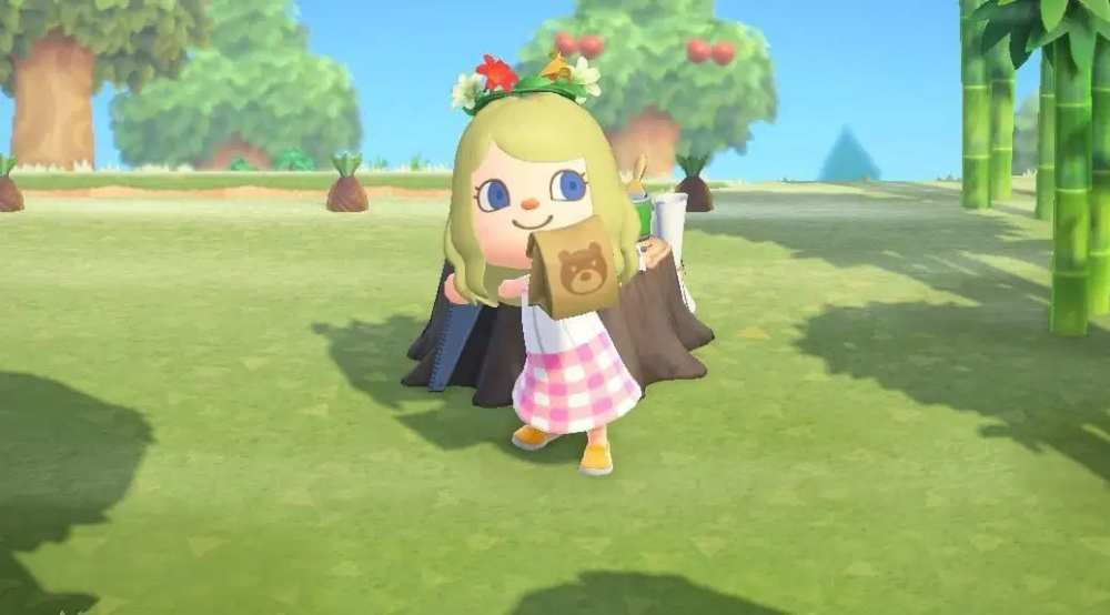 crafting in animal crossing second year